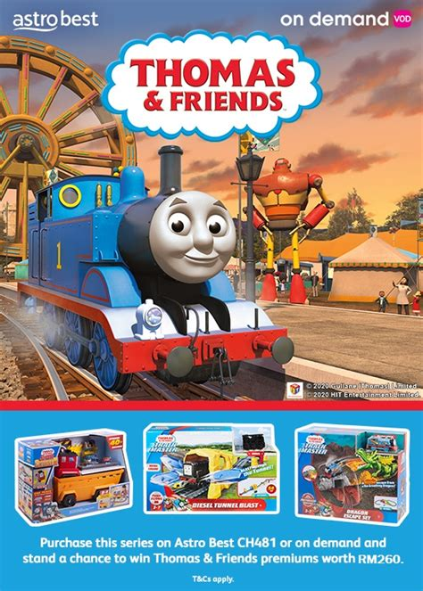 THOMAS & FRIENDS SERIES 24 PURCHASE & WIN ON DEMAND AND
