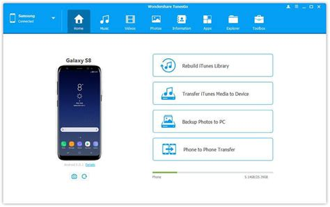 How to Backup Photos from Samsung Galaxy S8 to Computer