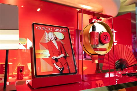 Giorgio Armani Beauty partners with DFS for Chinese New