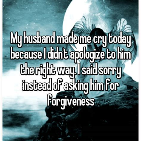 Wives Share The Awful Moments Their Husbands Made Them Cry