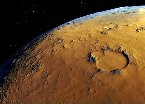 Craters, Tsunamis, and Minerals on Mars