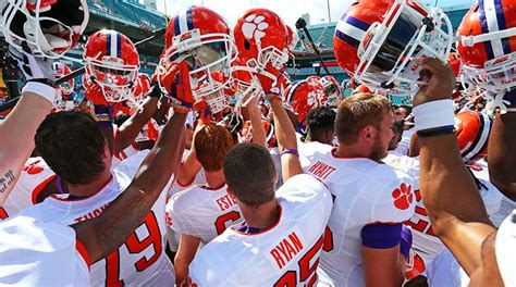 Clemson Tigers 2016 Football Schedule and Analysis