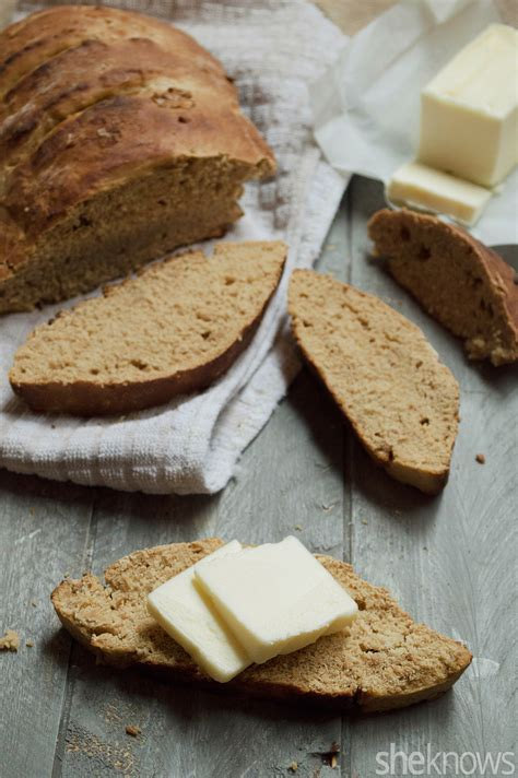 Homemade molasses bread is perfect for the holidays