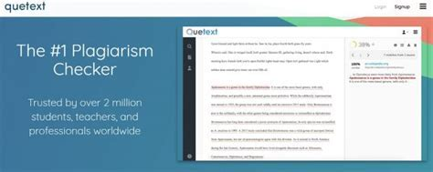 Quetext review - check your paper for plagiarism before