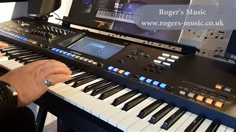 [4K] Yamaha Genos Demonstration with Roger's Music - YouTube
