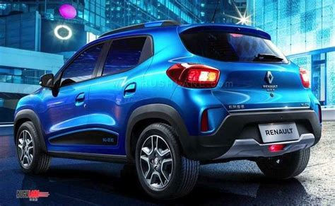 2020 Renault Kwid spied in India - Gets LED DRL above