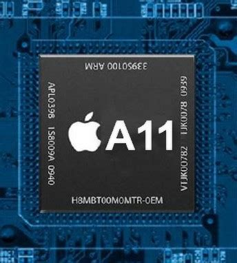 iPhone X A11 SoC benchmarks leaked before official