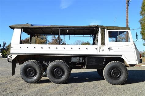 Steyr Puch Pinzgauer 712M - Troop - Swiss Military for